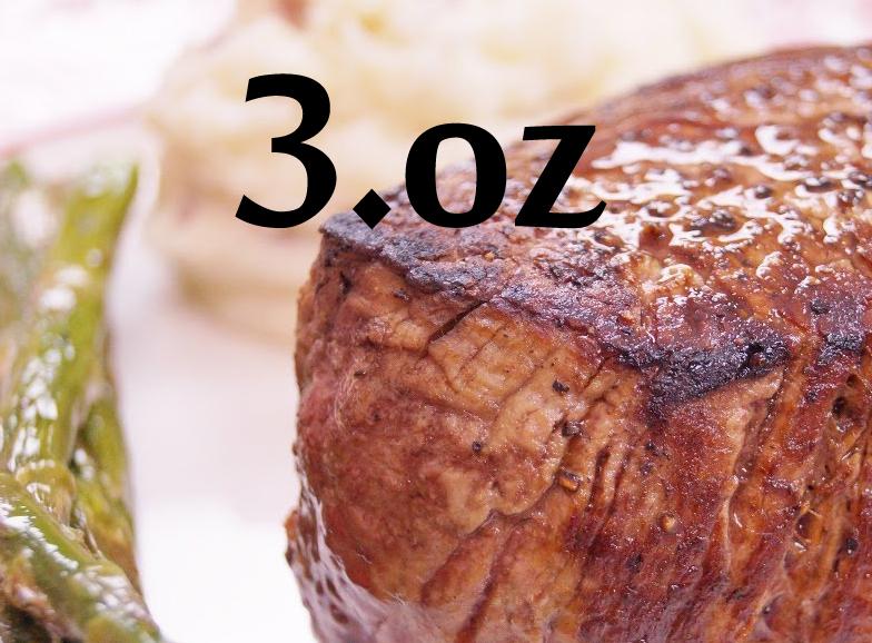 3oz Filet